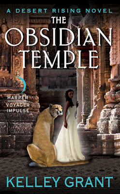 paranormal romance, Kelley Grant, The Obsidian Temple