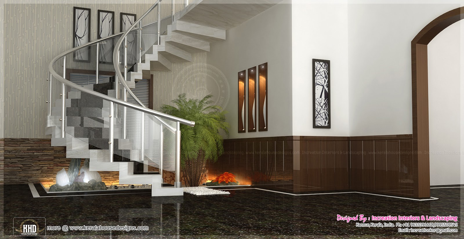 August 2013 kerala home design and floor plans for Kerala new home interior designs