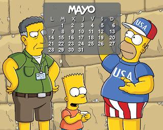 calendario_los_simpson_mayo