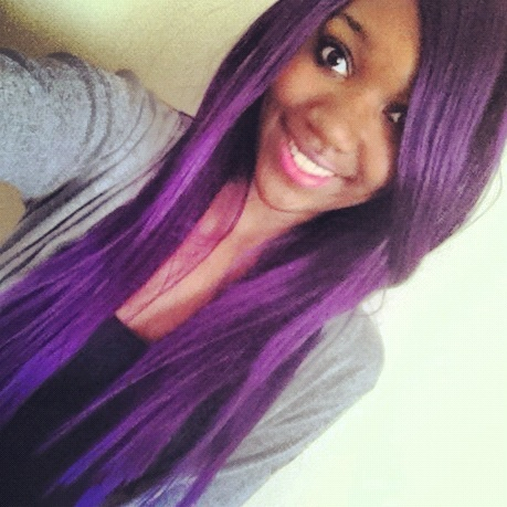 Girls With Light Purple Hair Tumblr I think black girls can pull