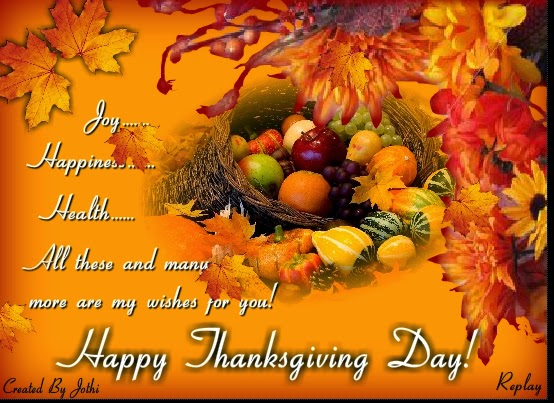 Happy Thanksgiving Day 2014 SMS