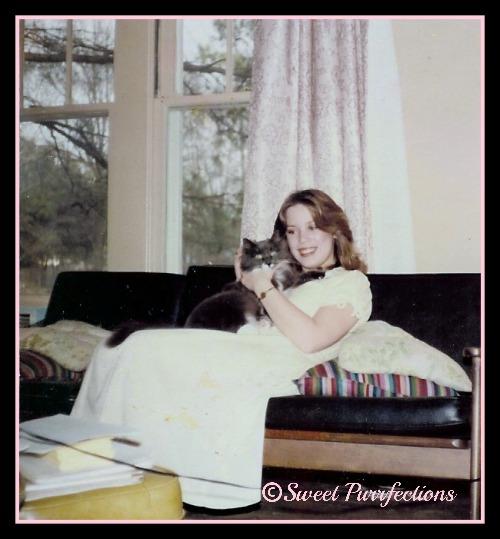 My first cat, Muff (circa 1979)