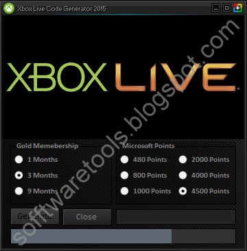 xbox live code generator download free