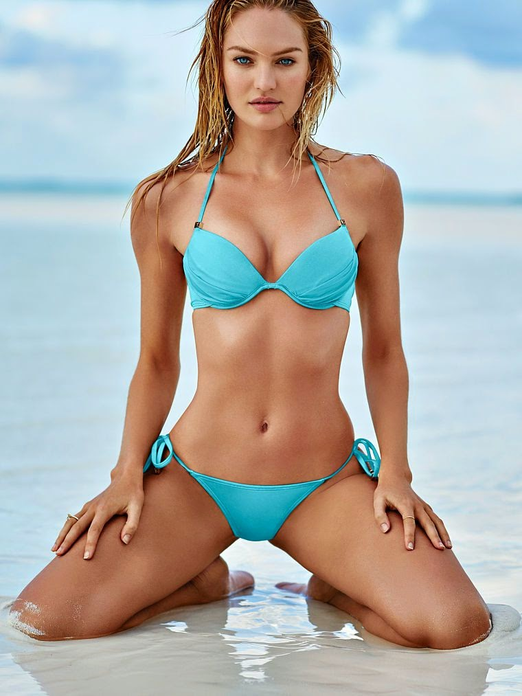 Candice Swanepoel is seductive for the Victoria's Secret Lingerie Lookbook December 2014
