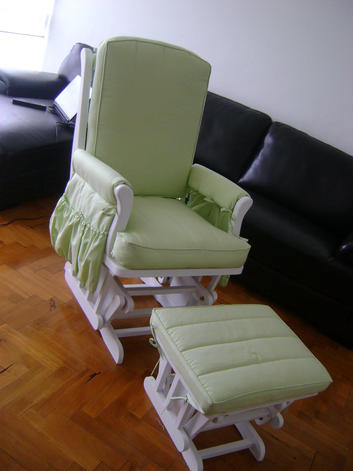 Creaciones clemente s a sillones de lactancia - Silla mecedora de lactancia ...