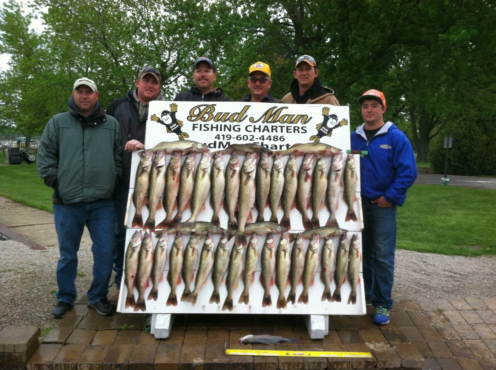 Lake erie walleye fishing reports may 2014 for Odnr fishing report