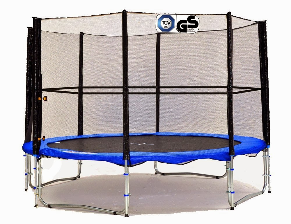 sports et loisirs ultrasport jumper trampoline de jardin 366 cm avec filet de securite. Black Bedroom Furniture Sets. Home Design Ideas