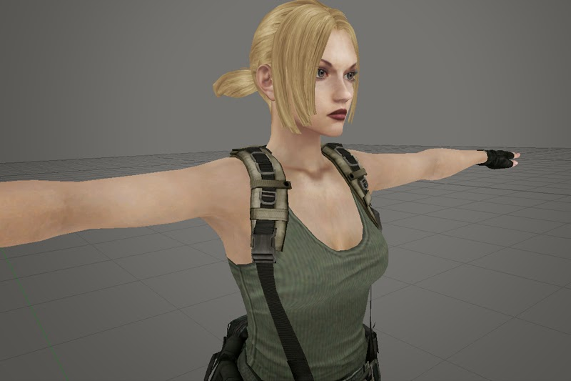 Tekken Nina Williams character model CG