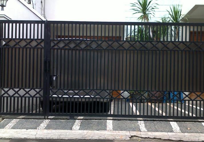 contoh pagar rumah minimalis terbaru 2015 gambar rumah