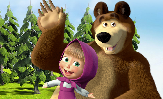 Inilah Pengisi Suara Masha and The Bear