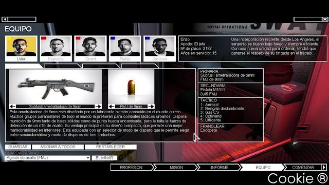 SWAT 4 + The Stetchkov Syndicate PC Full Español + Mapas Descargar DVD5