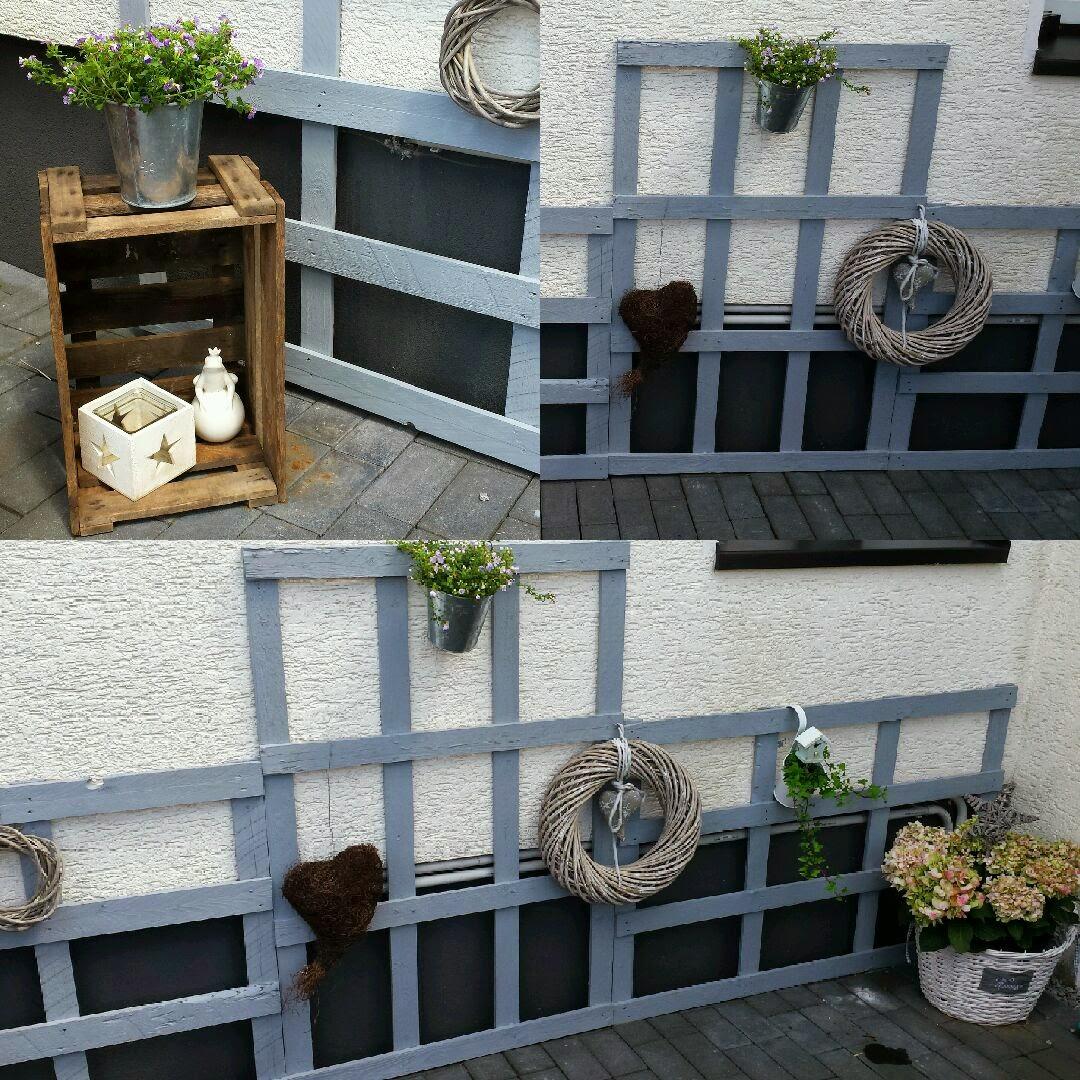 hauswand deko metall deko fr die hauswand x und x. Black Bedroom Furniture Sets. Home Design Ideas