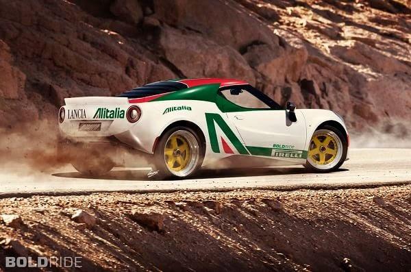 Lancia Stratos 2016