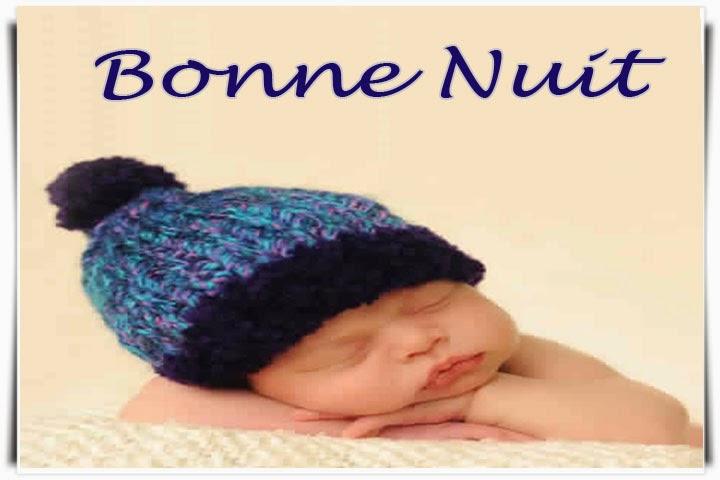 Photo bébé mignon pour dire bonne nuit