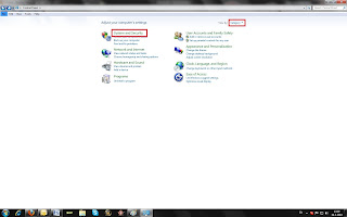 How to block internet access in windows 7