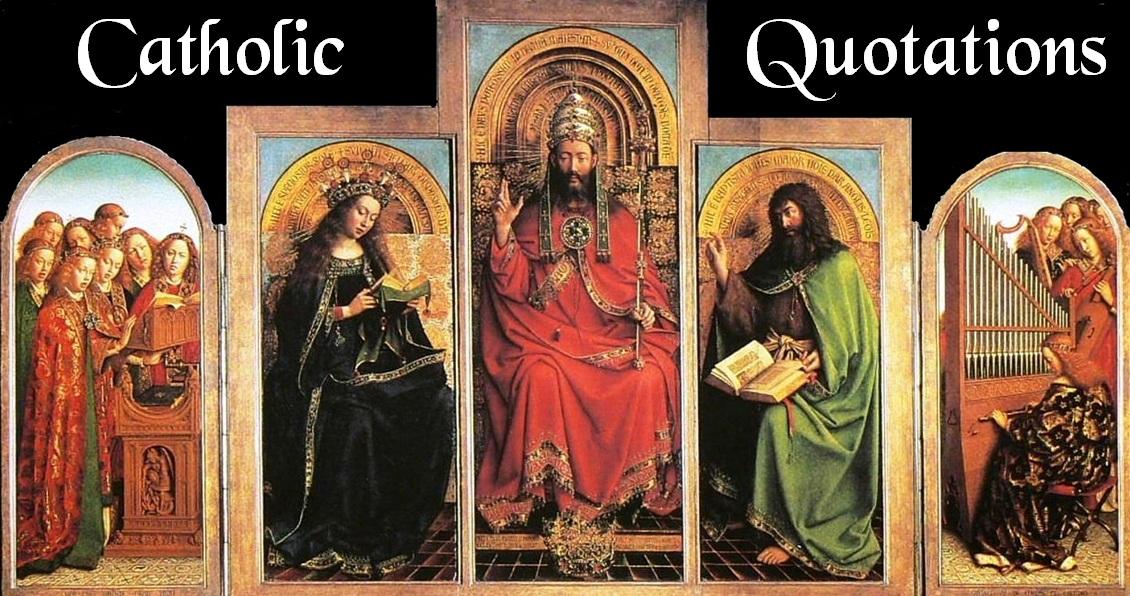 Catholic Quotations  W...