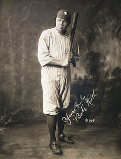 Bandnaam Babe Ruth verklaard - In New York Yankees uniform