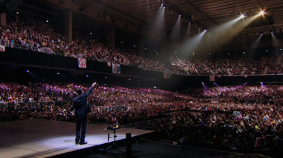 George Michael at Earls Court. London, 2008.