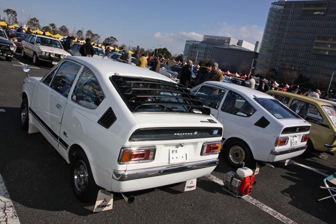 Mitsubishi Minica, niewielki samochód, jdm, galeria, dawny model, stary, oldschool