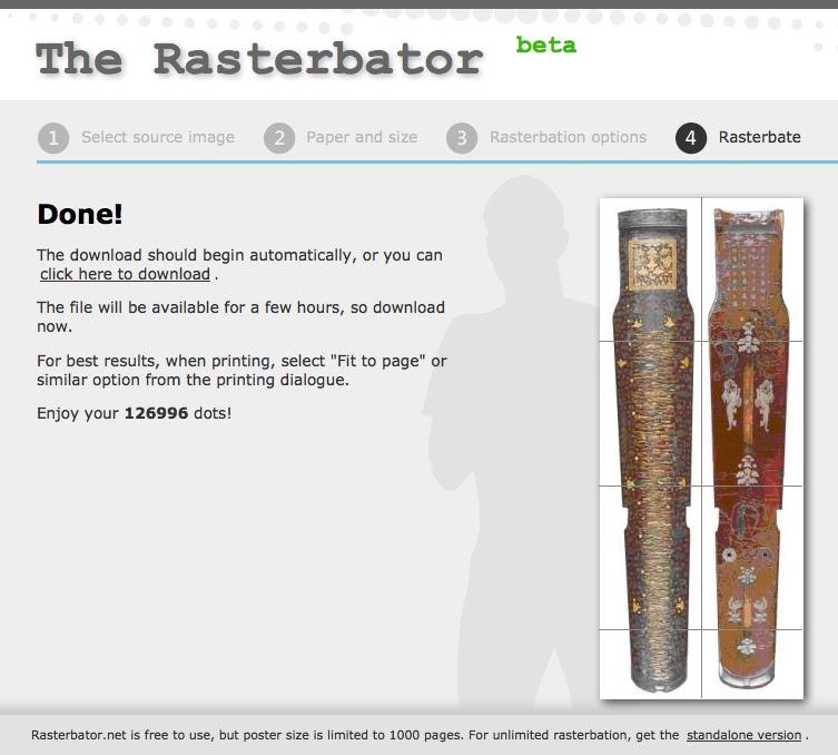rasterbator на русском онлайн