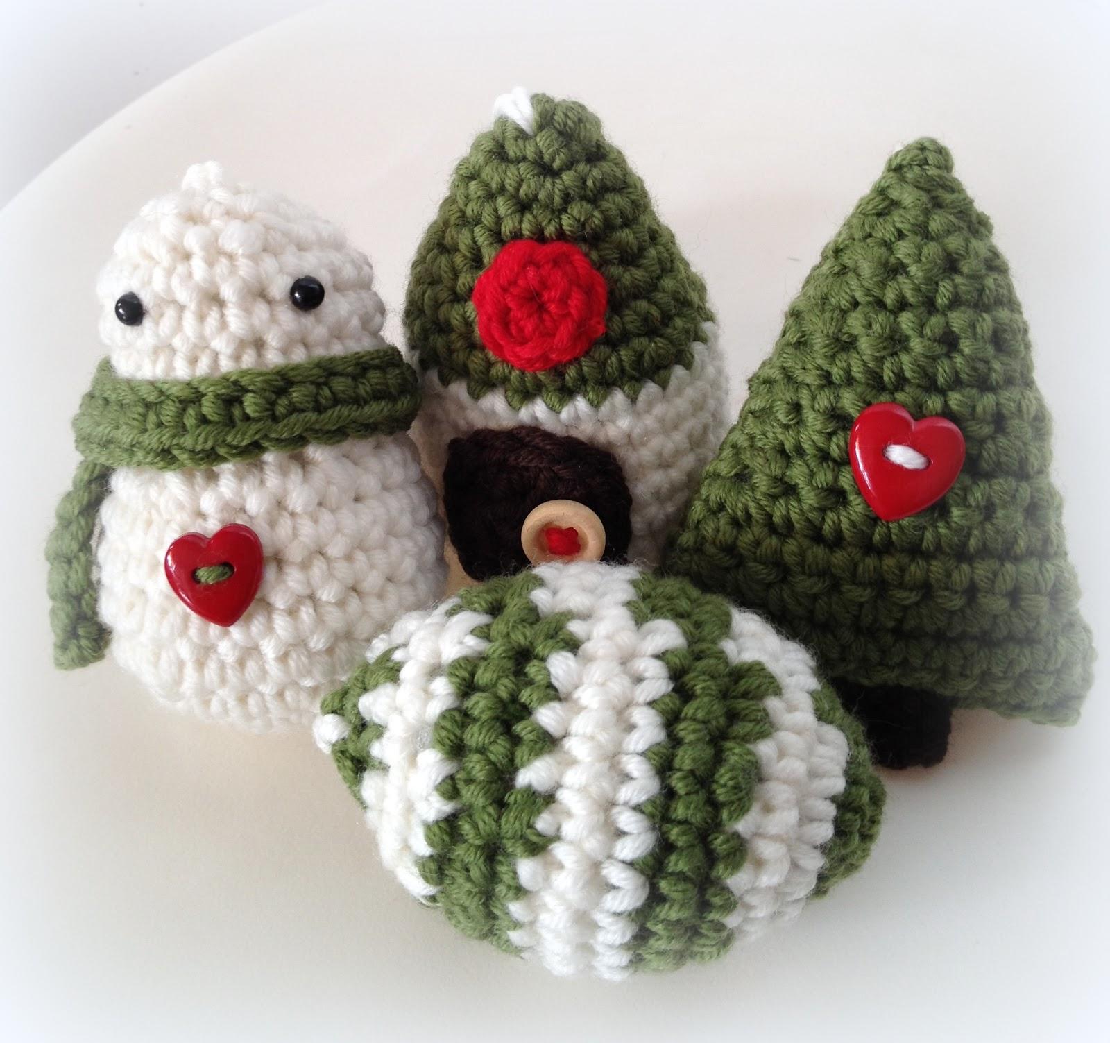 Amigurumis Navidad Crochet : Lady crochet amigurumis de navidad xmas