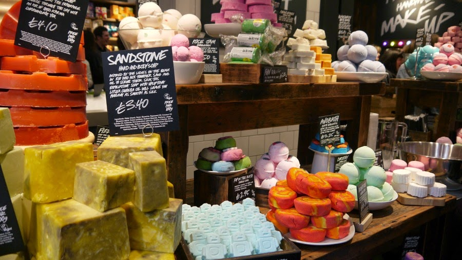 Lush Soap Bubble Bar Bath Bombs