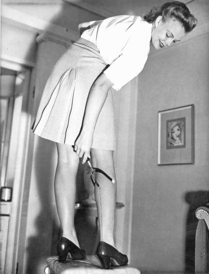 my stockings: