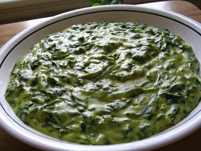 Spiced Creamed Spinach (Malai Sak)