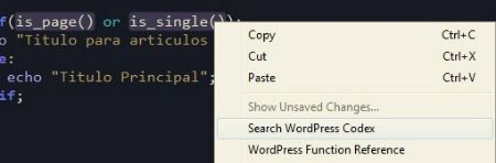 search wordpress codex español