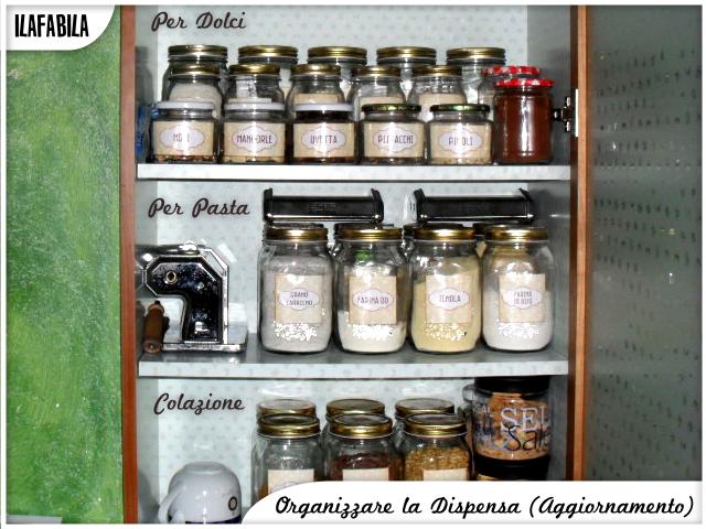 Organizzare la Dispensa (Aggiornamento) - Per Dolci