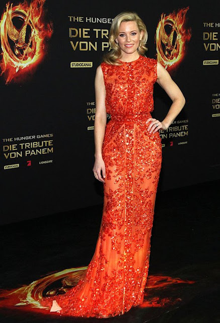 "Elizabeth Banks – in Elie Saab – at the Berlin premiere of ""The Hunger Games"""