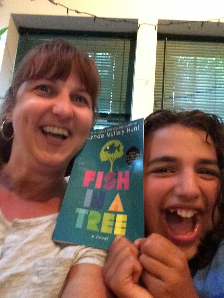 The late bloomer 39 s book blog a review of fish in a tree for Fish in a tree summary