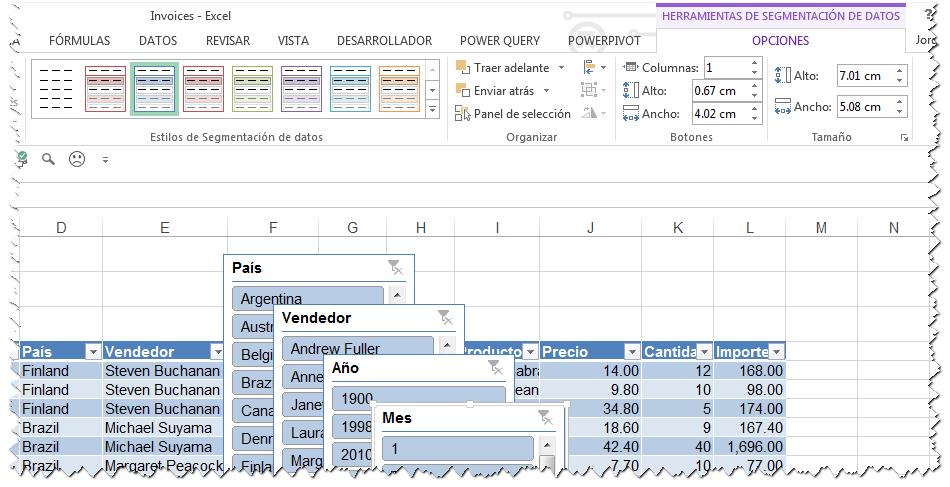 segmentacion de datos