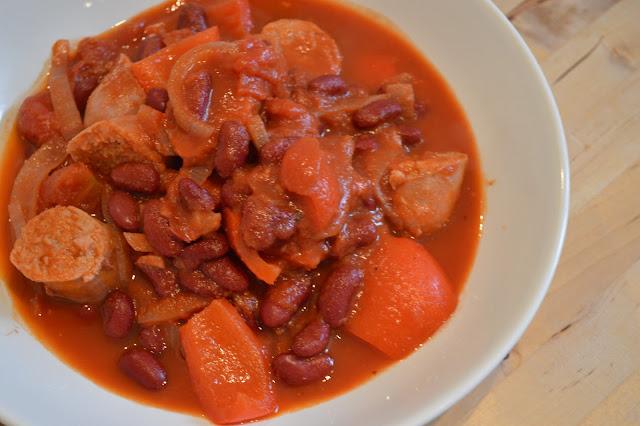 Spicy Sausage Chilli