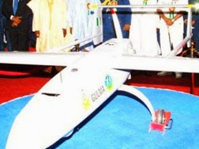 Nigerian military drones