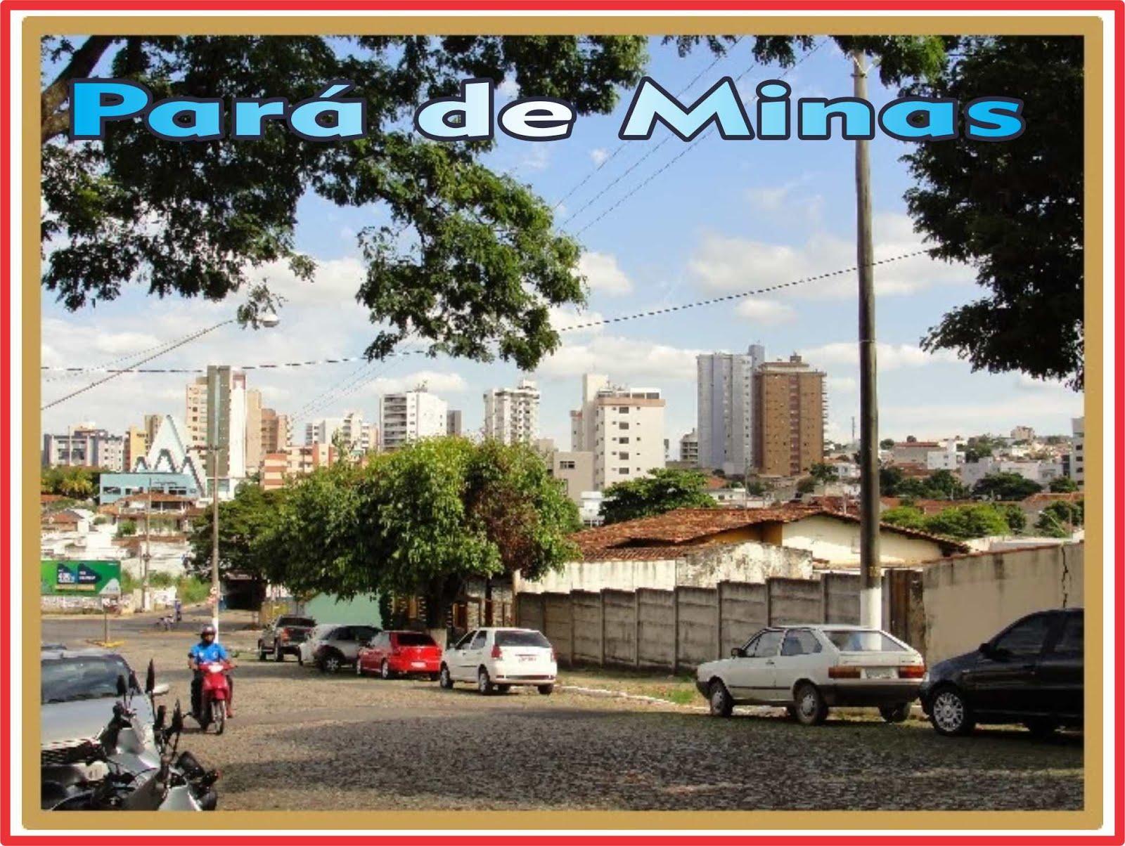 Pará de Minas Vista Parcial da Àrea Central