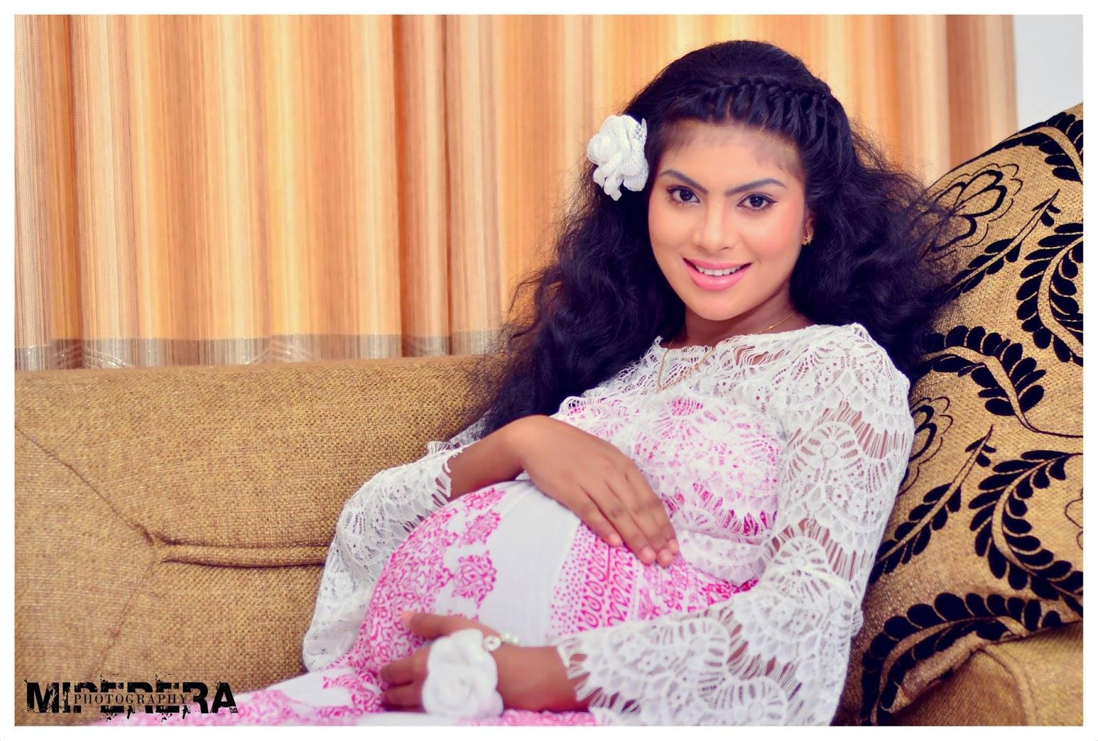 Sri lankan pregnant 6 months shaved 5