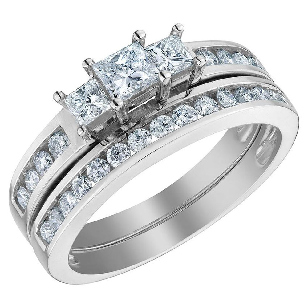 What you need to know about the princess cut wedding rings for women Ring R