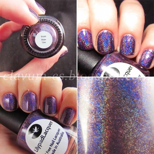 Violet Blaze Swatch