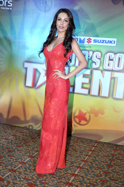Malaika, Karan & Kirron at Launch of India's Got Talent 2012