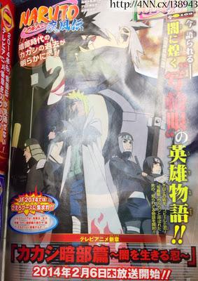 Anime Spesial yang menceritakan masa lalu kakashi akan segera ditayangkan
