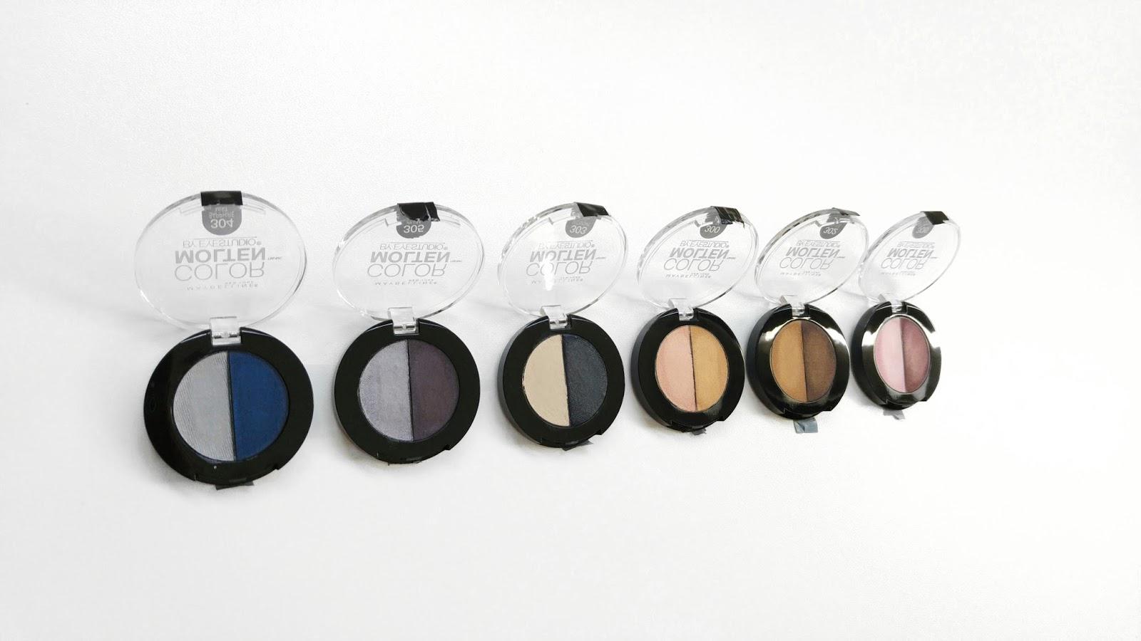 Maybelline Color Molten Eyeshadows