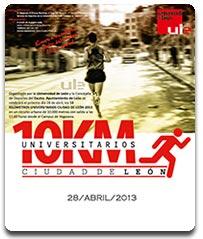 10 kms universitarios ULE www.mediamaratonleon.com