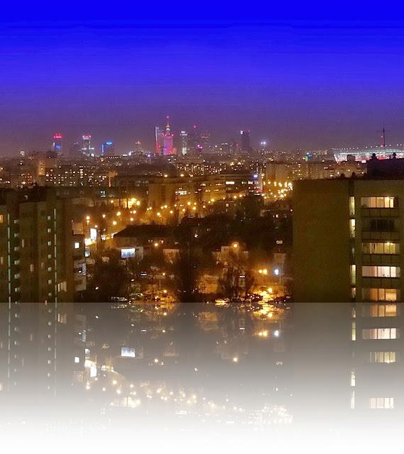 Warszawa widziana z Witolina