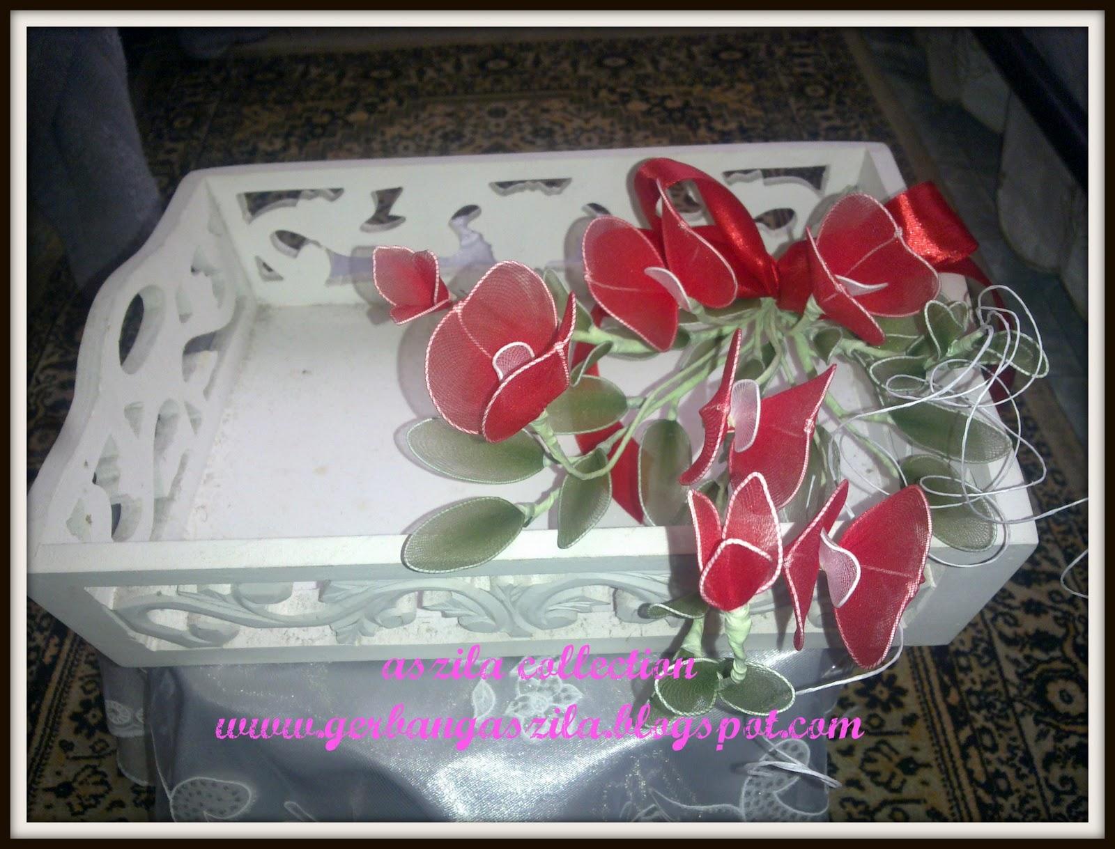 Gerbang Perkahwinan Aszila Bunga Hantaran Dip Sakura Red | Foto Artis ...