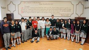 "Visitan el Palacio Municipal de Xalapa, alumnos de la Telesecundaria ""Juan Escutia"""