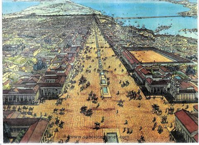 Η Αλεξάνδρεια είχε χτιστεί έτσι ώστε να ευθυγραμμίζεται με τον ήλιο, την ημέρα γεννεθλίων του Μεγάλου Αλεξάνδρου
