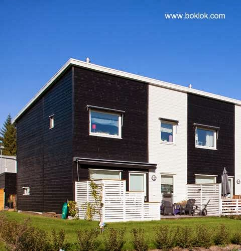 Arquitectura de casas casas prefabricadas suecas boklok - Viviendas prefabricadas modernas ...