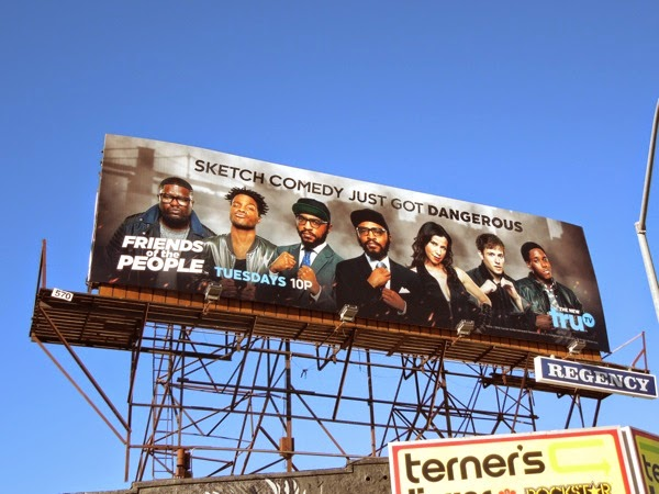 Friends of the People series premiere billboard