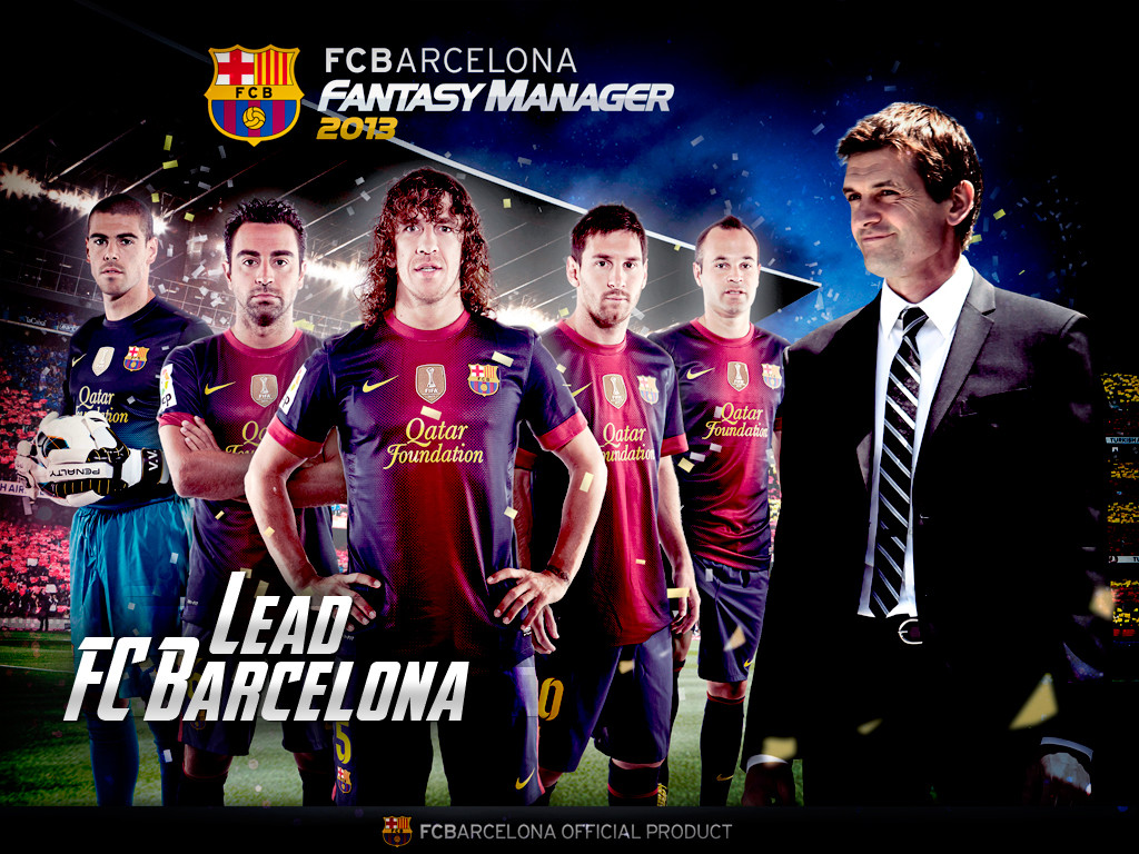 Wallpaper Barcelona FC 2013
